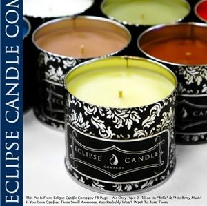 1- Eclipse Candle - Mix Berry Musk